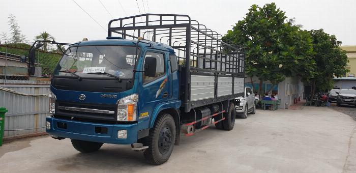 Giá xe tải chiến thắng 7.2 tấn ga cơ - thùng dài 6m7 | Giá thanh lý 3