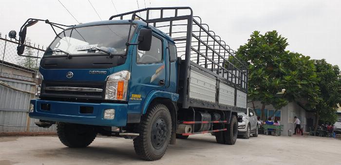 Giá xe tải chiến thắng 7.2 tấn ga cơ - thùng dài 6m7 | Giá thanh lý 0