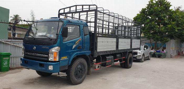 Giá xe tải chiến thắng 7.2 tấn ga cơ thùng bạt | Giá thanh lý 0