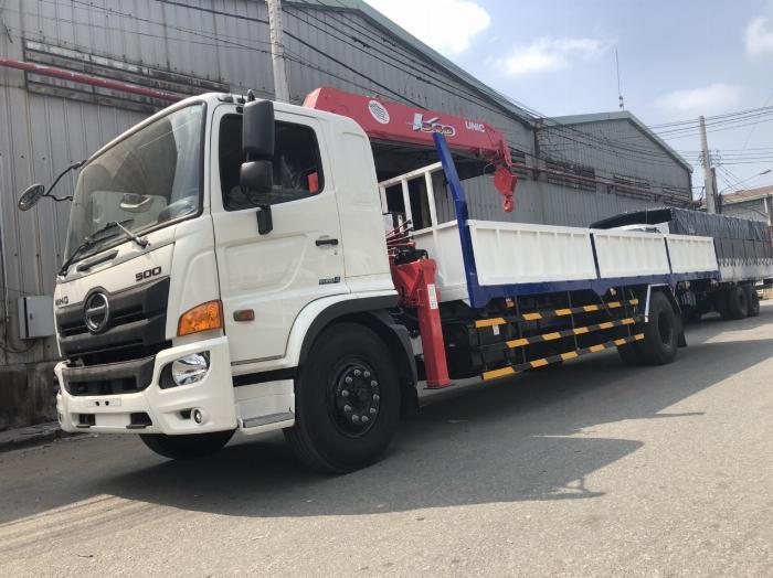 Xe tải Hino FG8JT7A-H  6 tấn 95 gắn cẩu Unic 5 tấn 5 đốt 3