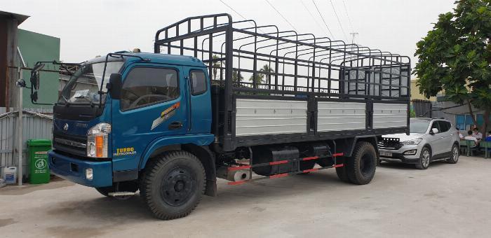 Giá xe tải chiến thắng 7.2 tấn ga cơ thùng bạt | Giá thanh lý 1