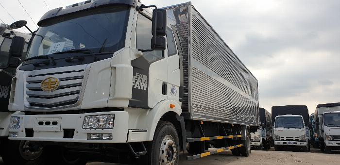 Xe tải thùng dài 10m, xe tải faw 7t25 thùng dài 10m độc quyền tại miền Nam. 0