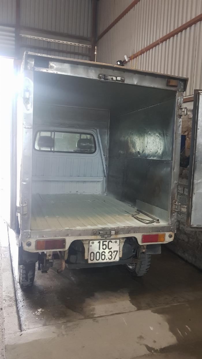xe tải cũ suzuki thùng kín đời 2007 giá rẻ 0906093322 0