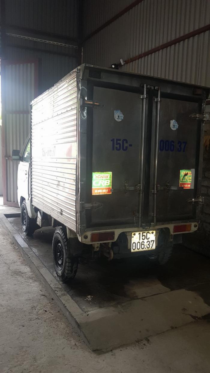 xe tải cũ suzuki thùng kín đời 2007 giá rẻ 0906093322 2