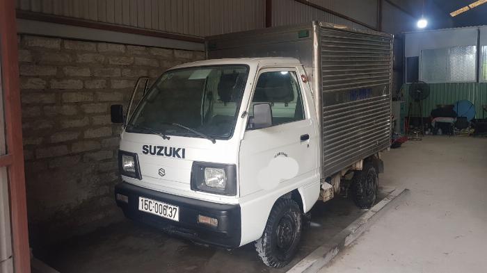 xe tải cũ suzuki thùng kín đời 2007 giá rẻ 0906093322 1