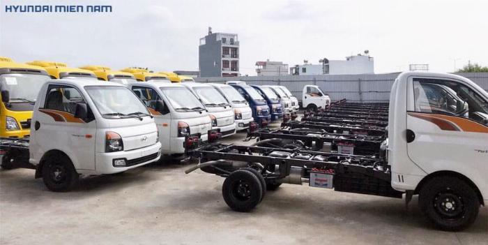 Giá xe New Porter 150 trả góp h150 thùng mui bạt 0
