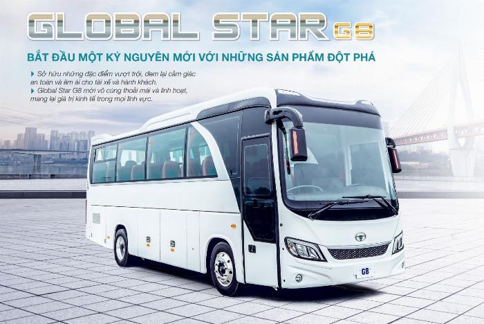 Bán DAEWOO GLOBAL STAR G8 29/34 chỗ 4