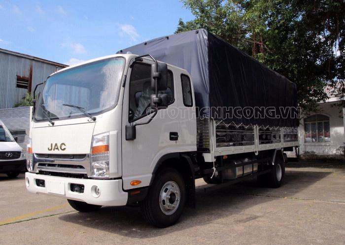 Xe tải Jac 6 tấn 5 động cơ cumins 1