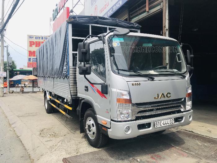 Xe tải Jac 6 tấn 5 động cơ cumins 3