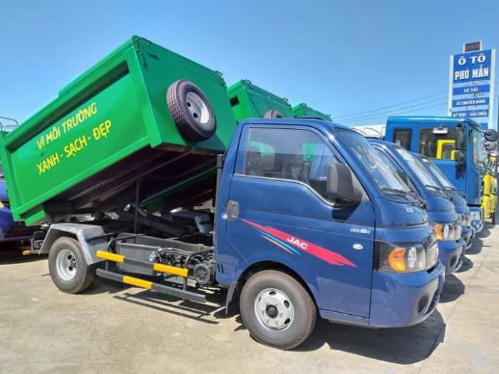 Xe tải chở rác 3 khối 5 giá tốt nhất hiện nay 0