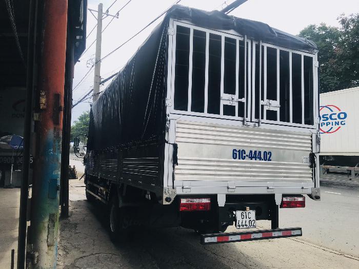 Xe tải Jac 6 tấn 5 động cơ cumins 5