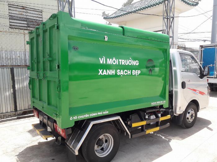 Xe tải chở rác 3 khối 5 giá tốt nhất hiện nay 3