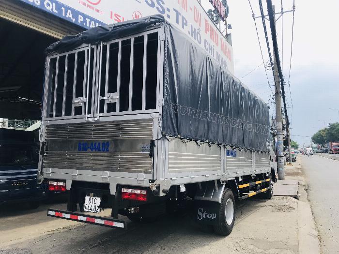 Xe tải Jac 6 tấn 5 động cơ cumins 6