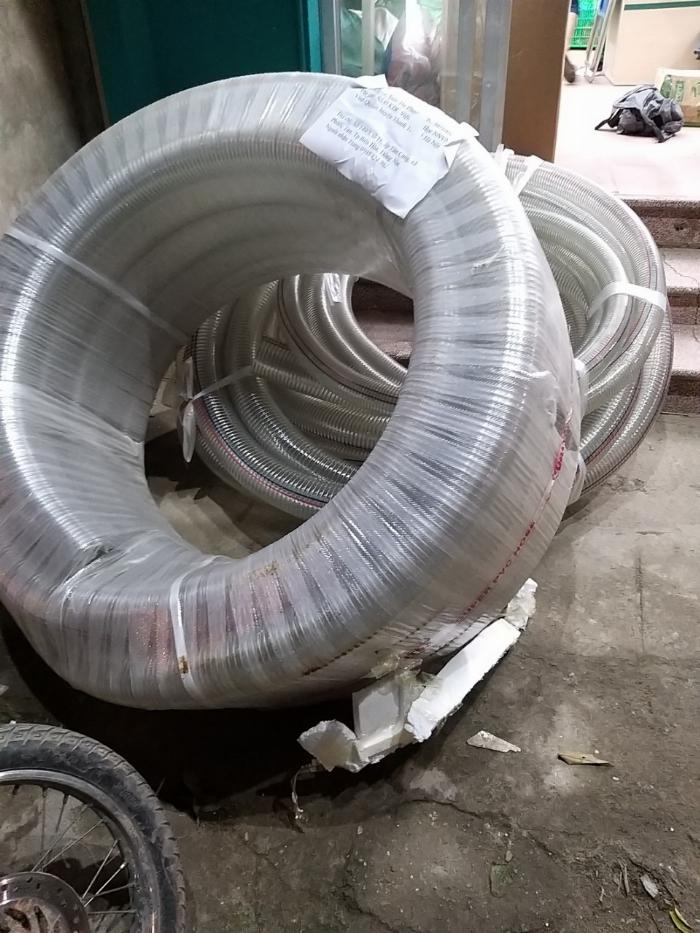Cung cấp ống nhựa mềm lõi thép dùng cho hút chất thải môi trường 5