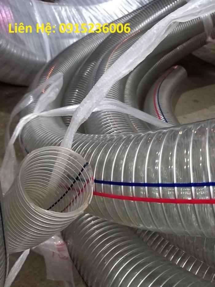 Cung cấp ống nhựa mềm lõi thép dùng cho hút chất thải môi trường 2