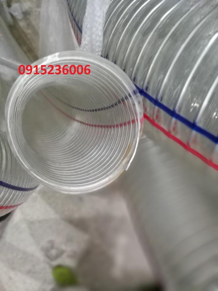 Cung cấp ống nhựa mềm lõi thép dùng cho hút chất thải môi trường 3