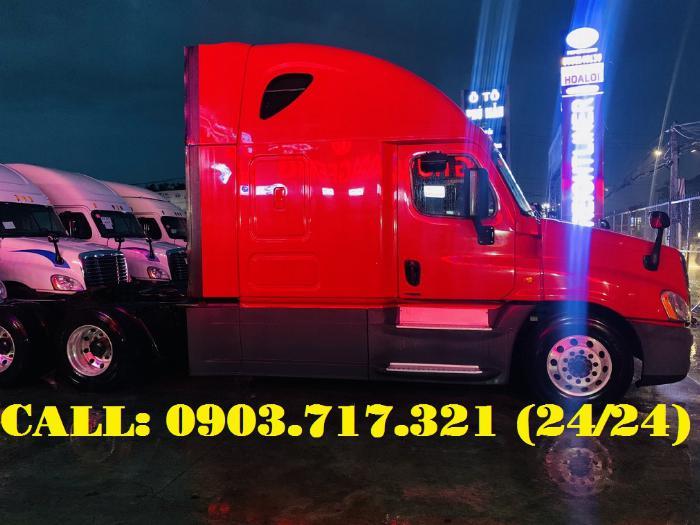 Bán xe đầu kéo Freightliner Cascadia 2015 | 2016. Đầu kéo Mỹ Freightliner Cascadia model 2015 1