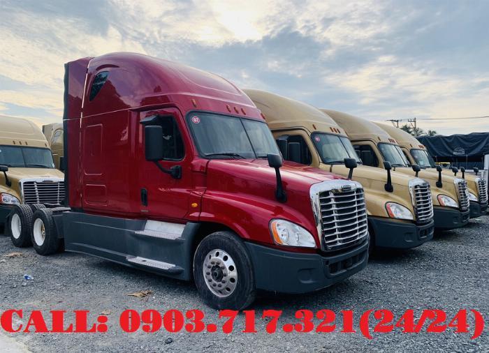 Bán xe đầu kéo Freightliner Cascadia 2015 | 2016. Đầu kéo Mỹ Freightliner Cascadia model 2015 2