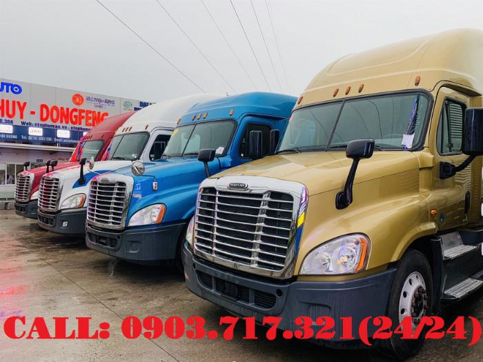 Bán xe đầu kéo Freightliner Cascadia 2015 | 2016. Đầu kéo Mỹ Freightliner Cascadia model 2015 3