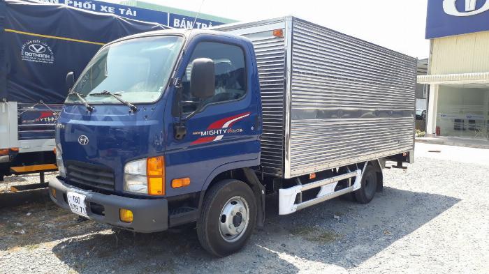 Hyundai N250SL 2,4 Tấn Thùng Dài 4,3m Lưu Hành Trong TP.HCM Vào Giờ Cao Điểm. 3