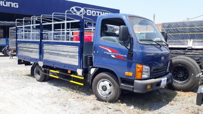 Hyundai N250SL 2,4 Tấn Thùng Dài 4,3m Lưu Hành Trong TP.HCM Vào Giờ Cao Điểm. 0