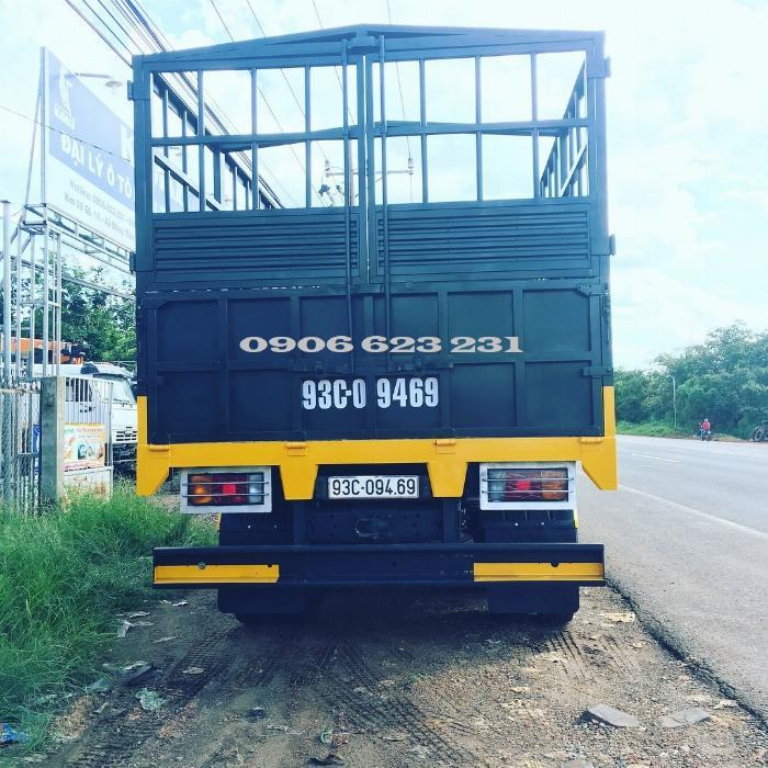 Xe tải thùng 53228 (6x6) 3 cầu chủ động | Kamaz 53328 thùng 6,7m 9