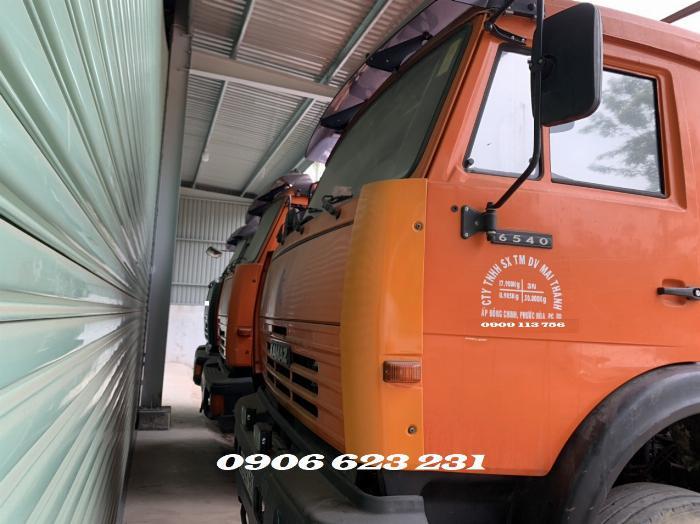 Cần Bán 6 xe tài thùng Kamaz 17,9/30 tấn thùng 9m đóng chắc chắn 0