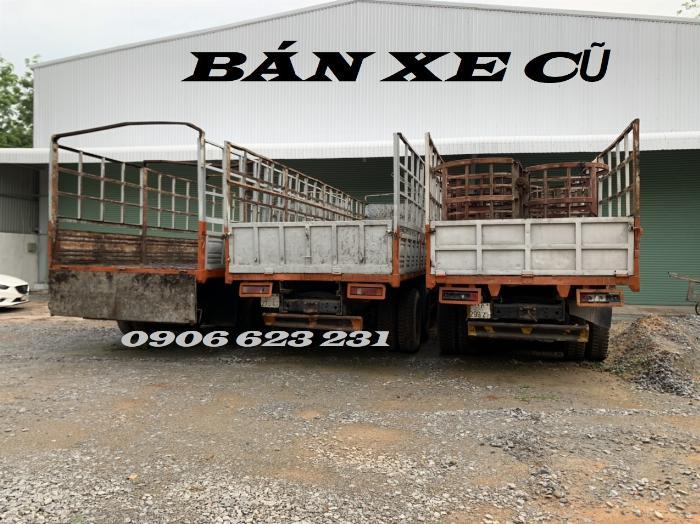 Cần Bán 6 xe tài thùng Kamaz 17,9/30 tấn thùng 9m đóng chắc chắn 7
