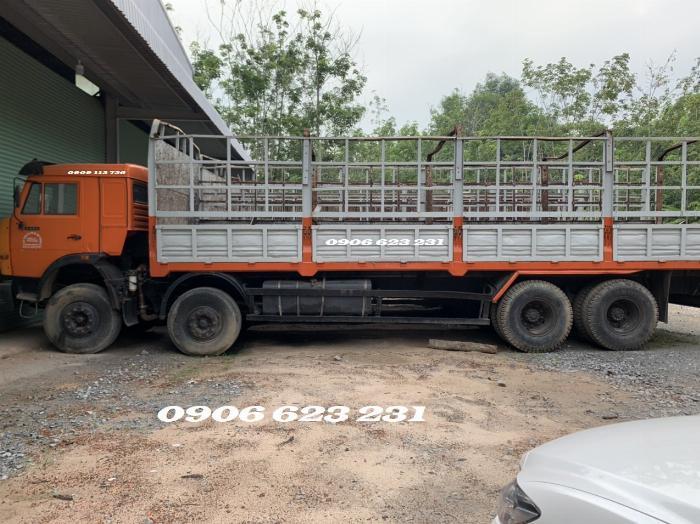 Cần Bán 6 xe tài thùng Kamaz 17,9/30 tấn thùng 9m đóng chắc chắn 2