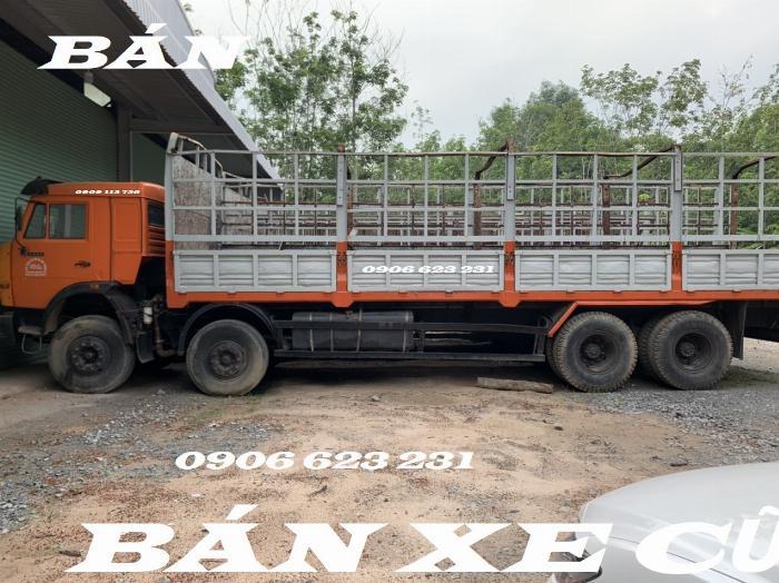 Cần Bán 6 xe tài thùng Kamaz 17,9/30 tấn thùng 9m đóng chắc chắn 8