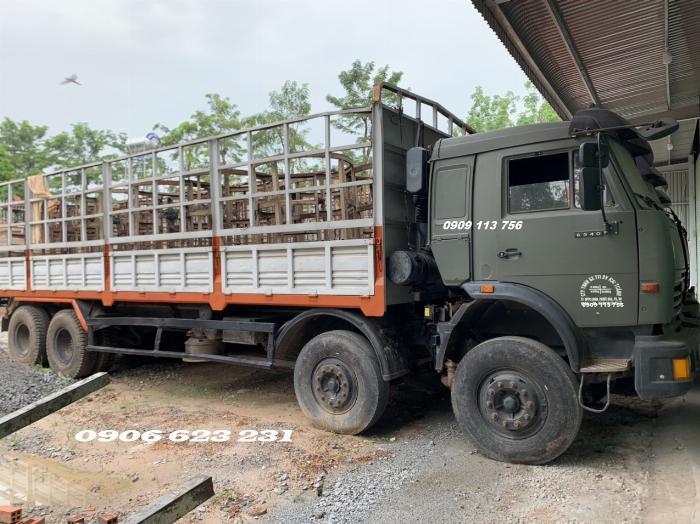 Cần Bán 6 xe tài thùng Kamaz 17,9/30 tấn thùng 9m đóng chắc chắn 3
