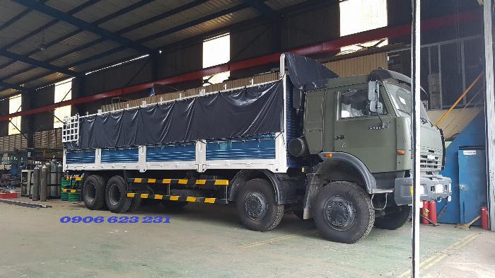 Cần Bán 6 xe tài thùng Kamaz 17,9/30 tấn thùng 9m đóng chắc chắn 5
