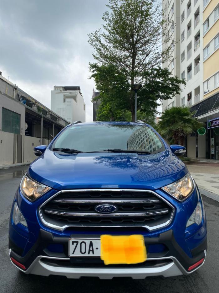 Bán xe Ford ecosport 1.5l titanium sx 2018 màu xanh 2