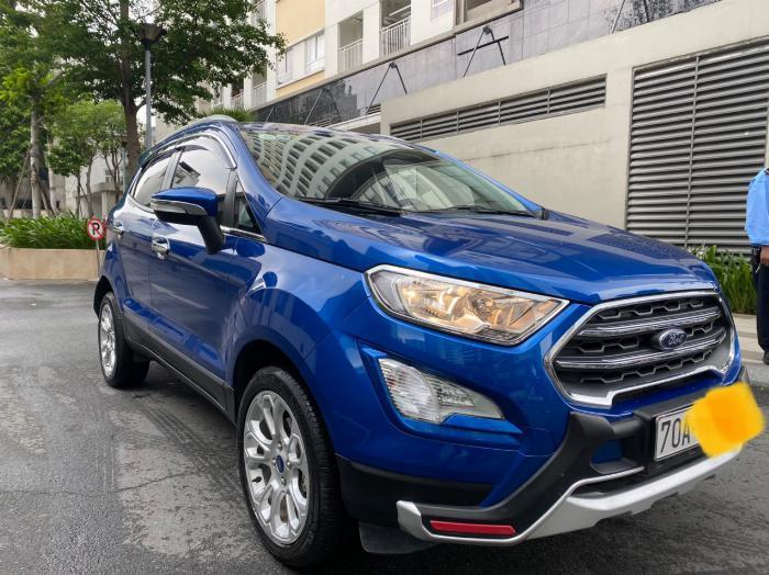 Bán xe Ford ecosport 1.5l titanium sx 2018 màu xanh 8