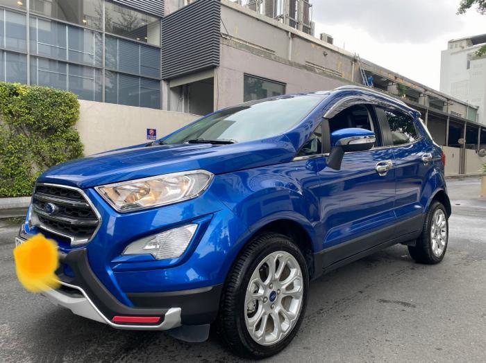 Bán xe Ford ecosport 1.5l titanium sx 2018 màu xanh 1