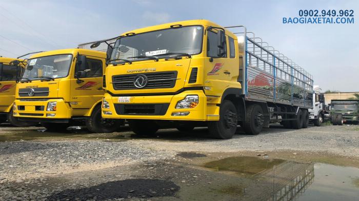 Xe tải 4 chân Hoàng Huy Dongfeng ISL315 tải 17T9 đời 2020 - Giảm giá 20 triệu 1