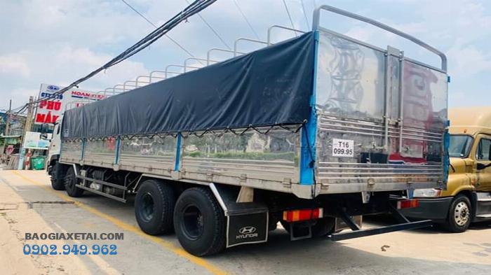 Xe tải 4 chân Hoàng Huy Dongfeng ISL315 tải 17T9 đời 2020 - Giảm giá 20 triệu 7