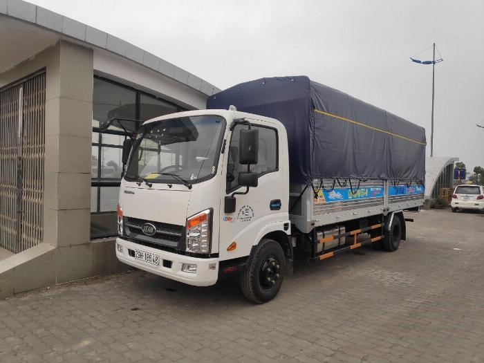 Bán xe Veam VT260-1động cơ ISUZU 1T9 thùng dài 6m1 3
