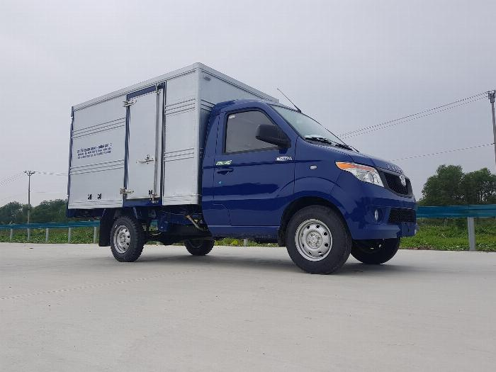 Bán xe tải Kenbo thùng kín thùng dài 2m6 1