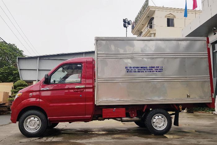 Bán xe tải Kenbo thùng kín thùng dài 2m6 6