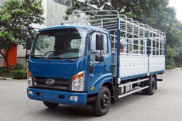 Bán xe Veam VT260-1động cơ ISUZU 1T9 thùng dài 6m1 7