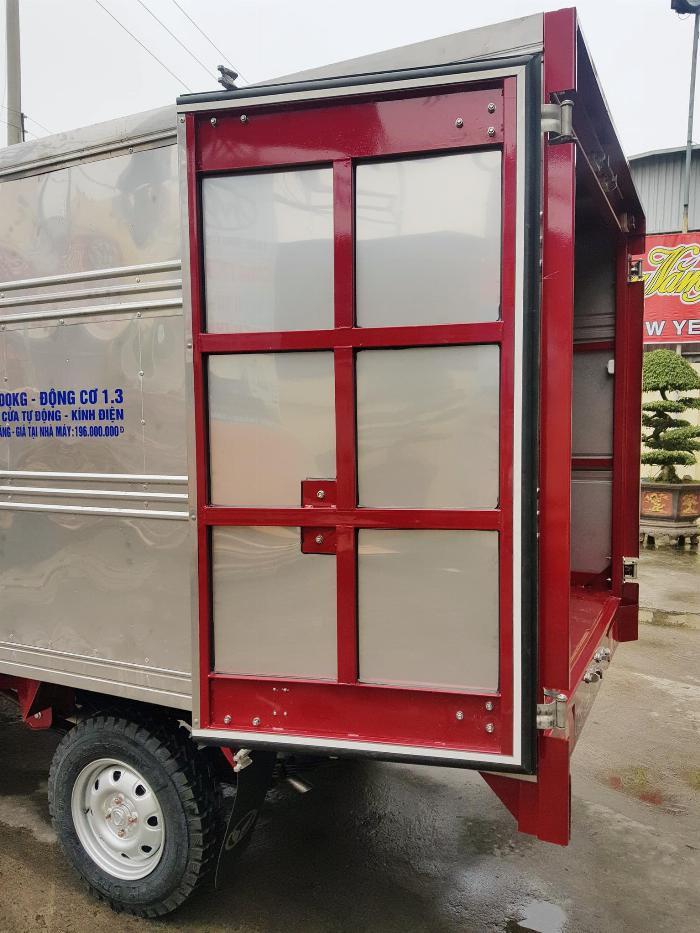 Bán xe tải Kenbo thùng kín thùng dài 2m6 5
