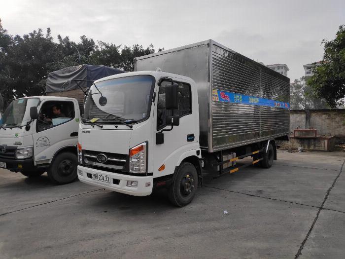 Bán xe Veam VT260-1động cơ ISUZU 1T9 thùng dài 6m1 9
