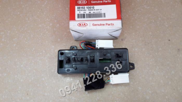 881931D010 Công tắc điều chỉnh ghế lái điện Kia Caren 1