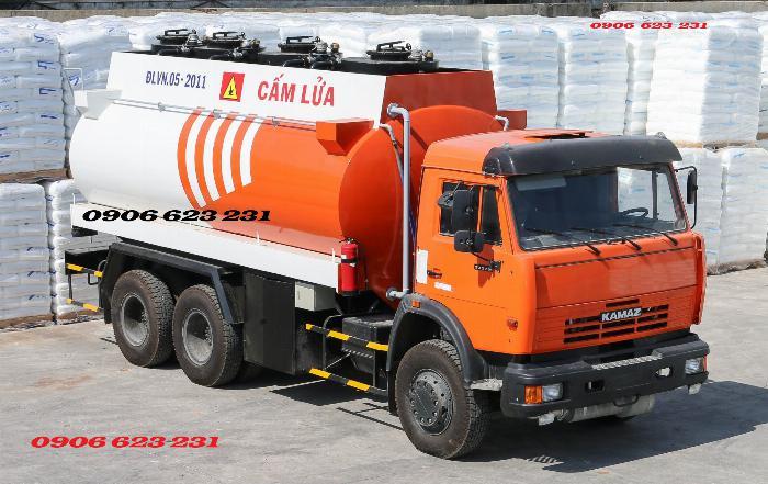 Xe trở dầu điều / Xe bồn dầu điều/ Xe xăng dầu Kamaz 3 chân & 4 chân / Xe bồn Kamaz 4