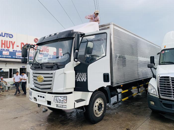 Xe tải 8 tấn thùng dài 10 mét chuyên chở palet | faw 8 tấn nhập khẩu nguyên chiếc 2020. 1