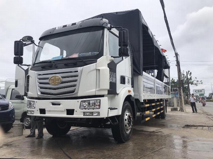 Xe tải 8 tấn thùng dài 10 mét chuyên chở palet | faw 8 tấn nhập khẩu nguyên chiếc 2020. 4