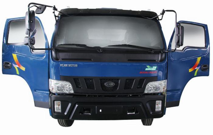 Bán xe Veam VT650 thùng dài 6m1 tải trọng 6T5 1