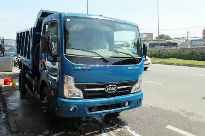 Bán xe Veam VT650 thùng dài 6m1 tải trọng 6T5 4