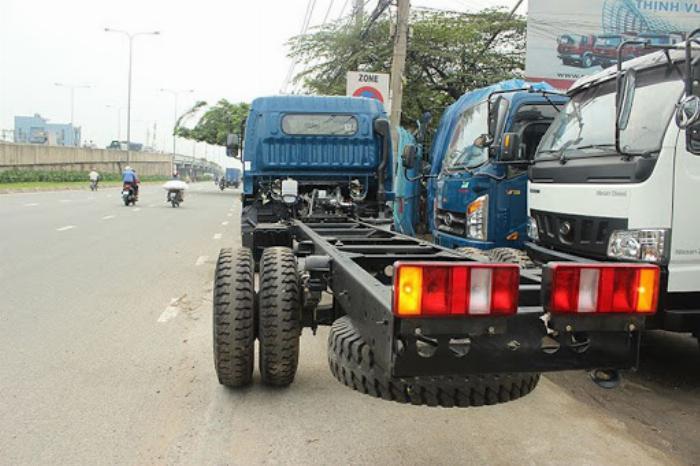 Bán xe Veam VT650 thùng dài 6m1 tải trọng 6T5 0